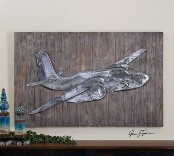 Uttermost pride of the air metal wall art would be cute in  little boys also rh pinterest