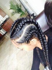 cornrow kid braids