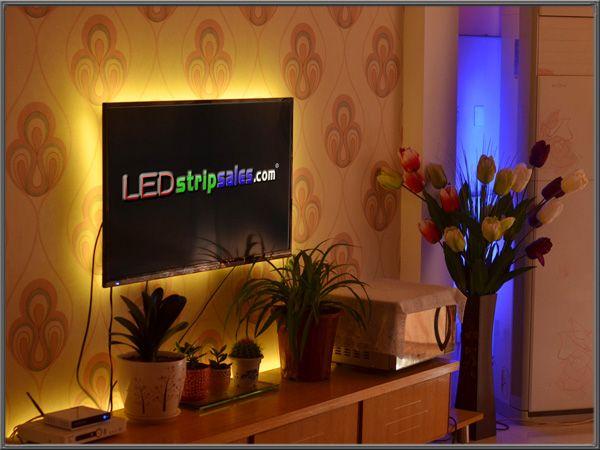 ▶ Home Decor Of LED Strip Lights YouTube Color Changing LED