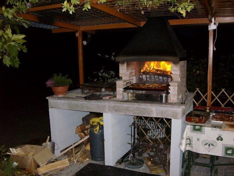 Cucine Esterne Da Giardino In Muratura   da giardino  Accessori da esterno  Modelli di
