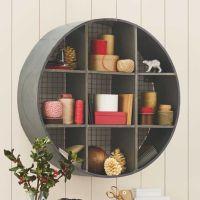 Round Metal Hanging Shelf | Orden en el caos | Pinterest ...