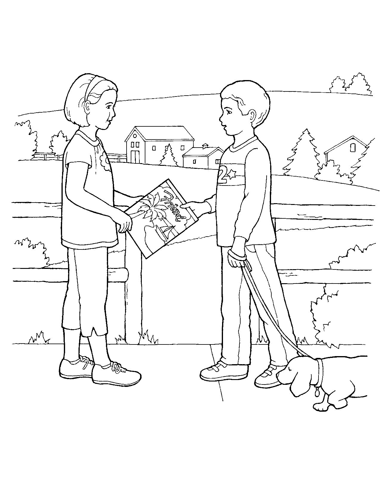 Primary coloring sheet from lds.org. For more LDS coloring