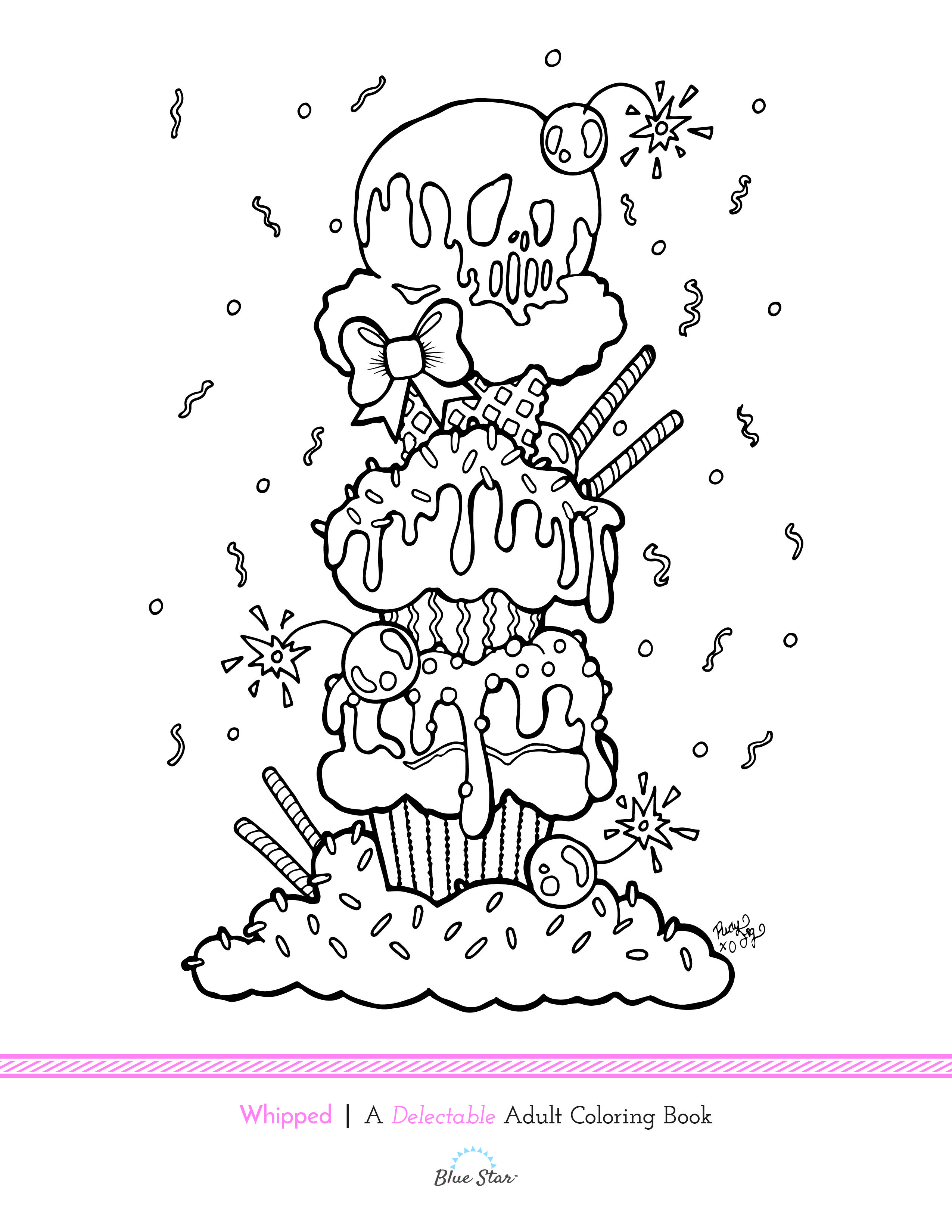 Free Coloring Page from Rudy Fig's new book being released