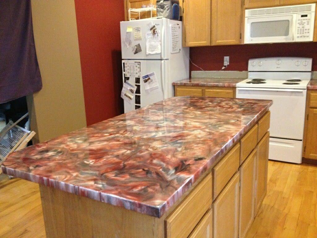 epoxy resin kitchen countertops small kitchens designs metallic countertop coating using leggari products