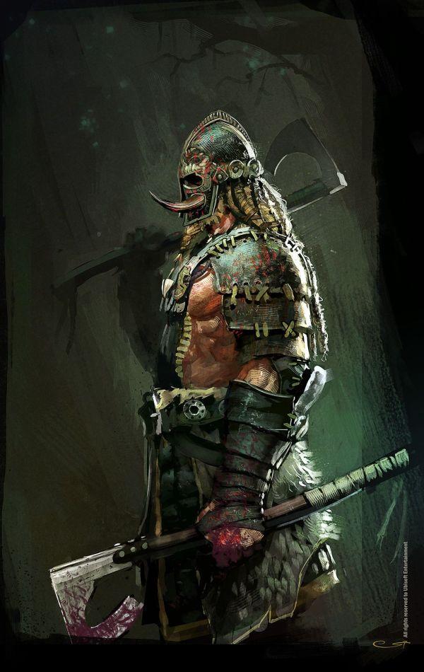 Viking Berserker Concept Art