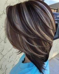 nice Dark Brown Hair Color Ideas 2016 With Highlights ...