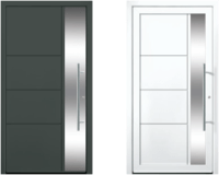 Contemporary and modern entry doors by Groke. A superior ...
