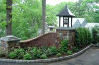 Entry Piers, Driveway Piers, Custom Piers of Brick Stone ...