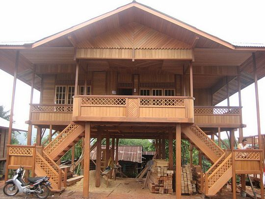 Wooden House Design Philippines When Someone Plan To Master