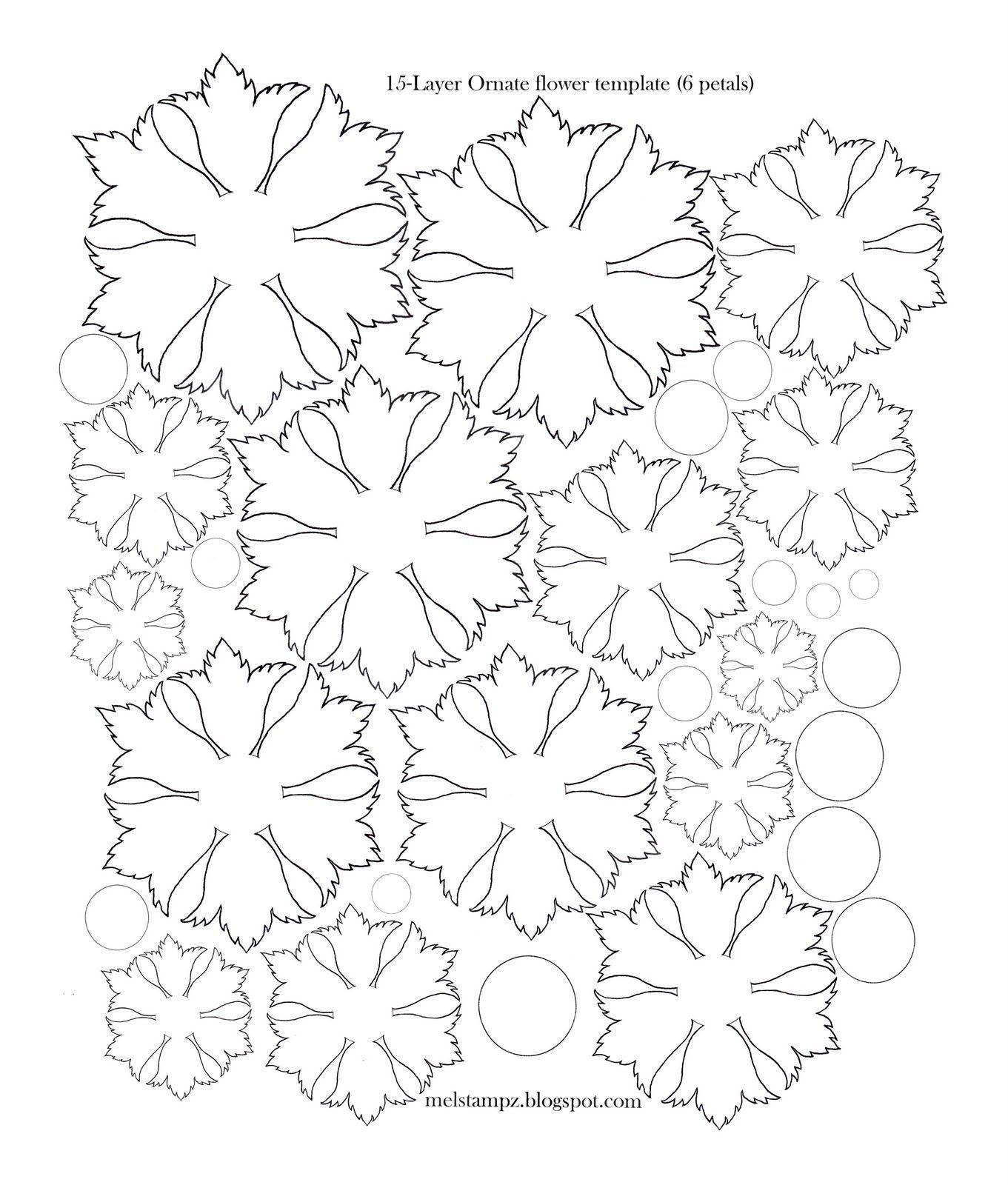 6+petal+ornate+flower+template.jpg 1 361×1 600 pixels