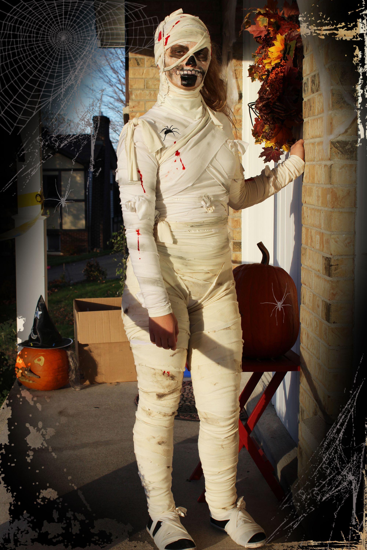 Halloween DIY Mummy Costume Costume De Momie Faire Soi
