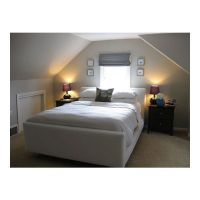 small bedrooms with low slanted ceilings | Sloped ceiling ...