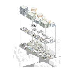 Exploded Axon Diagram Luton Motion Light Sensor Switch Circuit Next Top Architects Axonometric Housing