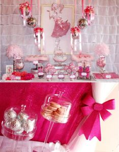 pink th birthday enchanted prom party also princess rh pinterest