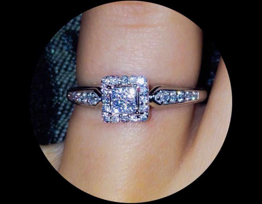 Kay jewelers promise ring  can't wait for this baby to be