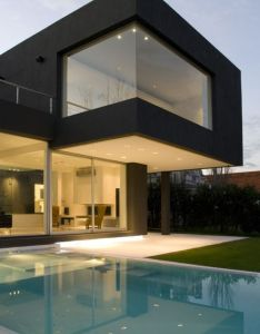 The black house buenos aires argentina  project by andres remy arquitecto also best images about beautiful glass on pinterest rh uk