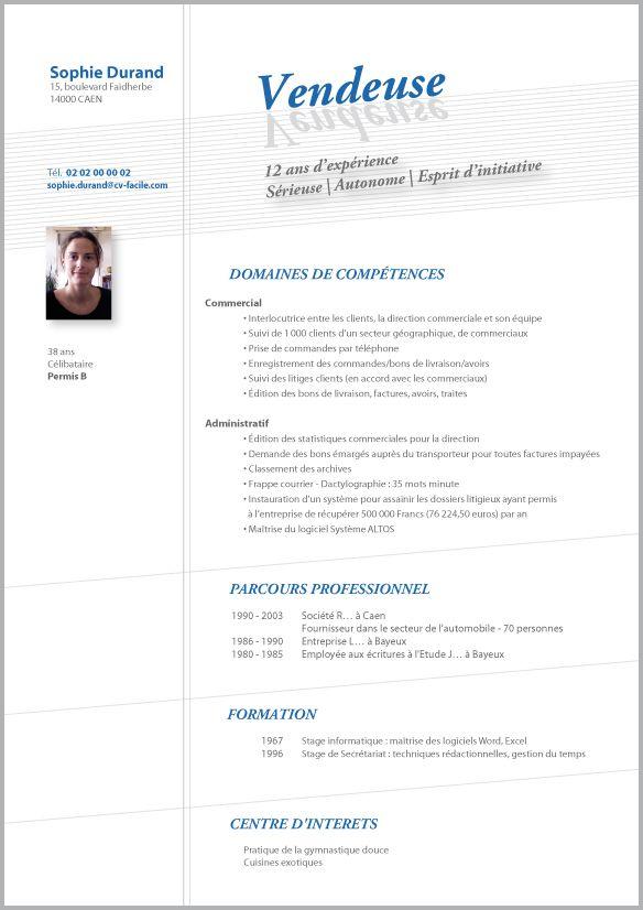competence cv sport