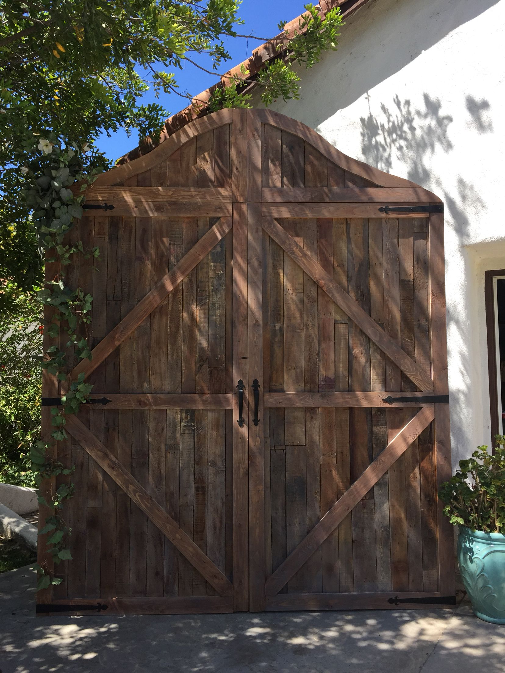 Barn Door Backdrop