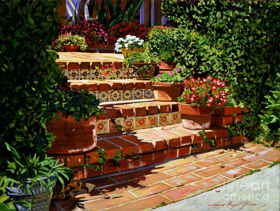 Colorful Talavera Style Tiles Make These Steps Pop
