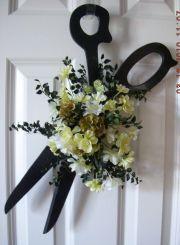 wreath hairdresser; fun