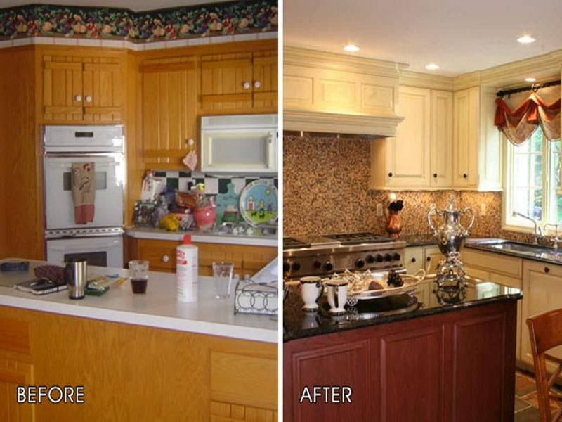 25 Best Images About Kitchens Before And After On Pinterest