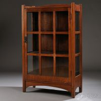 Arts & Crafts China Cabinet   Sale Number 2661B, Lot ...