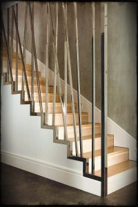 Modern Stair Railing. Simple Modern Stair Railing Images ...
