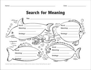 Search for Meaning (using context clues to define words