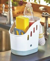 Keep your dishwashing supplies organized and at the ready ...