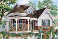 Plan 80703PM: One Level Victorian Home Plan | Victorian ...