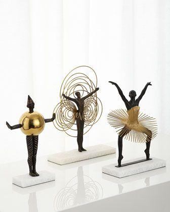 Bauhaus woman sculptures by global views at horchow bauhausafrican artafrican also sphere sculpture african furniture and tv walls rh pinterest