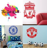 Your Football Club Wall Decal Art Manchester United ...