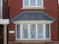 bay window canopy