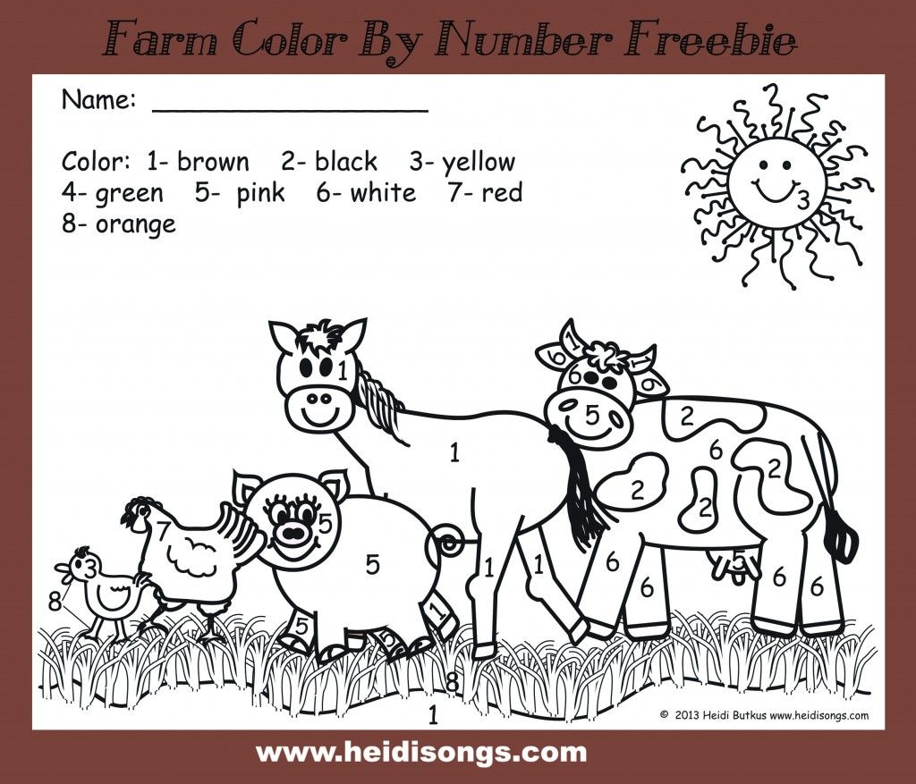 Kindergarten Lesson Plans Week Five It S Farm Week