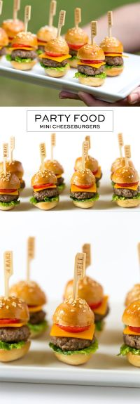Mini Cheeseburgers | Recipe | Rhodes, Engagement parties ...