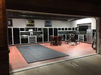 This garage is sweet!   Garage Ideas   Pinterest   Men ...