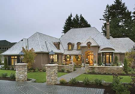Plan 69460AM Energy Efficient French Country Design French