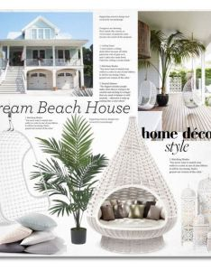 Dream beach house by sella liked on polyvore featuring interior interiors also rh pinterest
