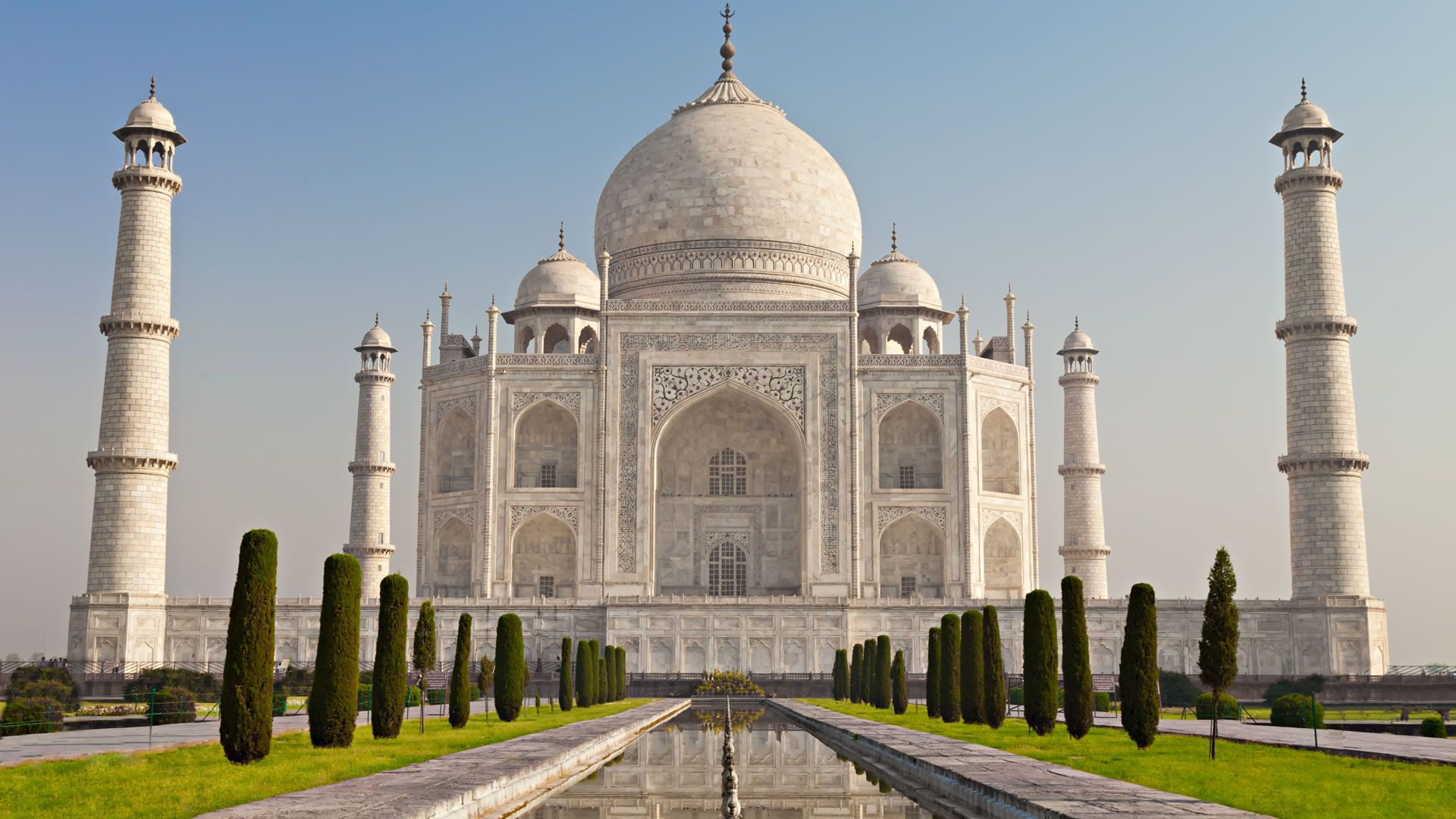 El Taj Mahal, El Edificio Representativo De La