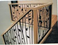 stair rails and banisters | Railings - Staircase Banister ...