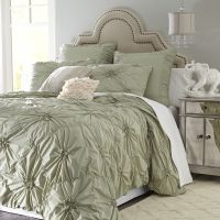 Green Savannah Duvet Cover & Sham - Sage - Cotton ...