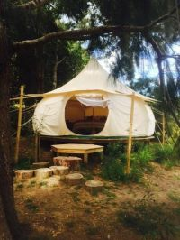 Lotus Belle 16ft Outback tent beautiful by Lotusbelletents ...