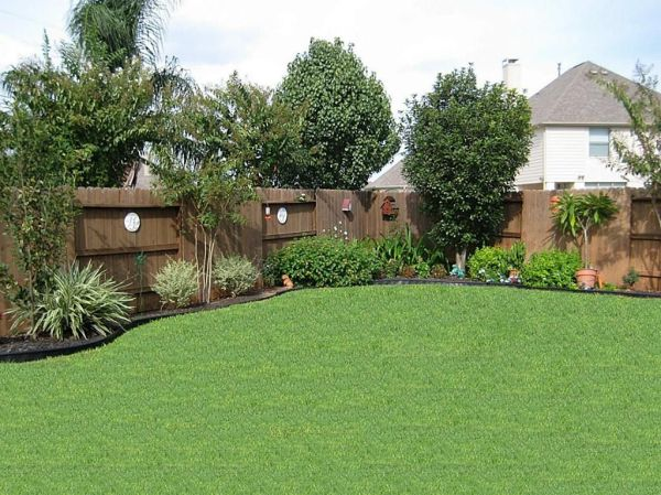 backyard landscape ideas privacy