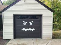 Monster Garage Door-Halloween Decoration Easy 2 make ...