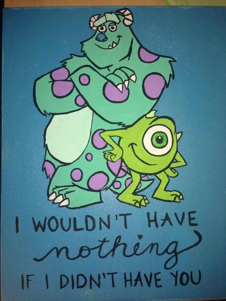 Monsters Inc Canvas Made By Me Pinterest Monsters Canvases And Paintings