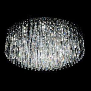Flush Mount Crystal Chandelier Lighting