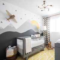 20 Gray and Yellow Nursery Designs with Refreshing ...