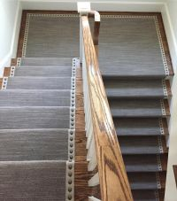 MNailheads add an elegance to this stair runner and edge # ...