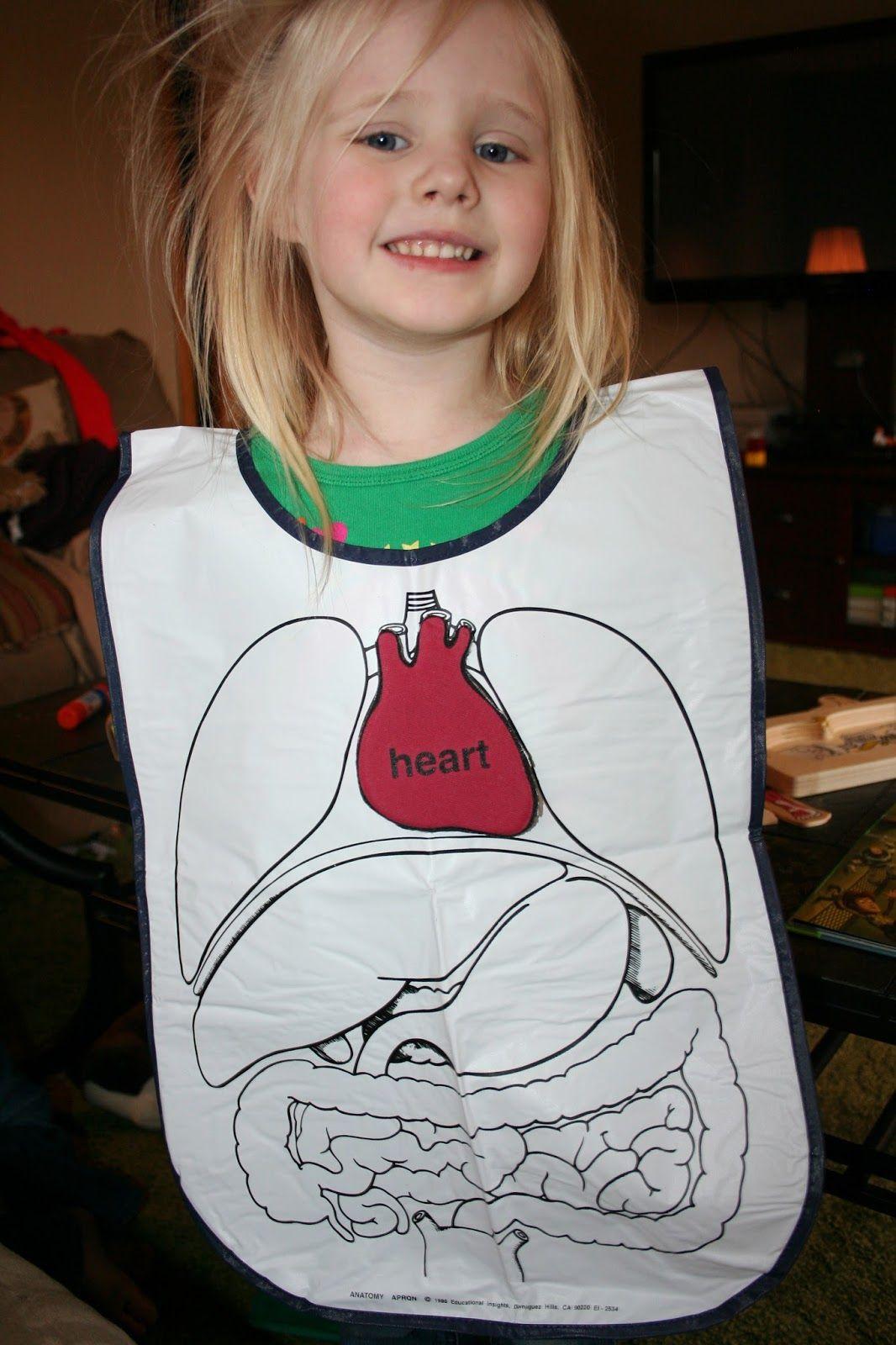 Healthy Habits Montessori Preschool Human Body Week
