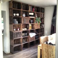 Wooden crate storage | Pallet/Wood and Recycled DIY ...
